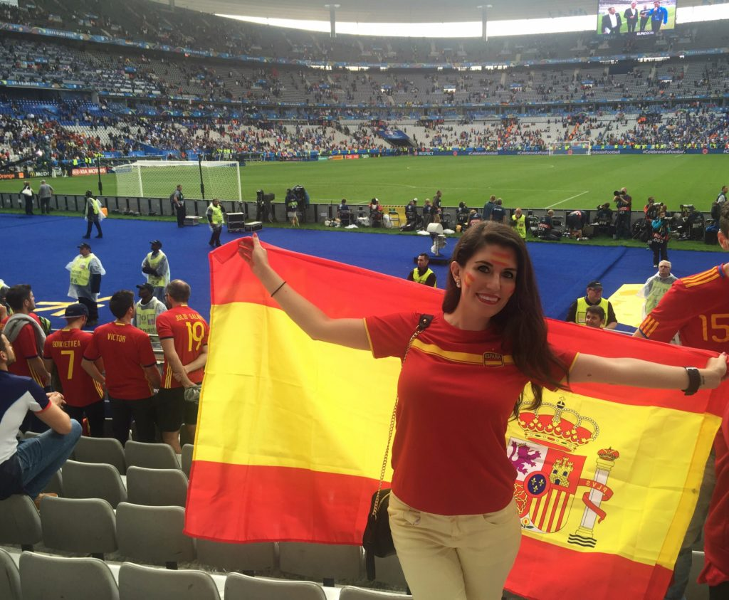 euro2016 spain supporter